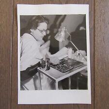 PHOTOGRAPHIE DE PRESSE 1941 ECOLE DE PODOLOGIE EXERCICES