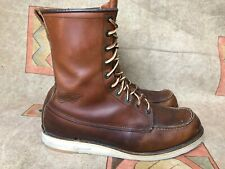 Red Wing Moc Toe 877 Oro Embossed Logo Men's Sz US 11.5 D | EUR 45 | UK 10.5