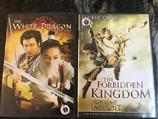 Double feature dvd - The white dragon + Forbidden Kingdom (english-french audio)