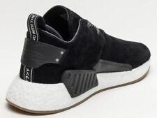 ADIDAS NMD C2 Black Suede Sneakers 8