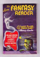 Avon Fantasy Reader No 1 1947  H G Wells Story