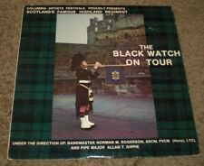 The Black Watch On Tour~Scotland's Famous Highland Regiment~Bagpipes~FAST SHIP!