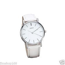 Fashion Lady Womens Watch Retro Design Date Leather Analog Quartz Wrist Watches