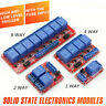 1-2-4-8 Kanal 5/12V Relais Modul mit Optokoppler für Arduino (High/Low Trigger)