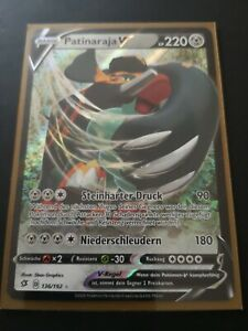 Pokémon TCG- Patinaraja V - 136/192 - Deutsch - Ultra Rare - Zustand: Mint