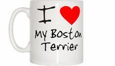 I love coeur mon Boston Terrier Mug
