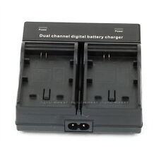 Dual Channel Battery Charger For SONY NP-550 F750 F960 F970 FM500H QM91D FM55H