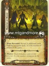 Lord of the Rings LCG - 1x Massing at night #112