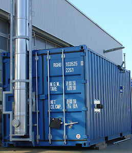 Mobiler Heizcontainer 500kW