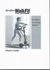 Nordic Track Walkfit Classic  Treadmill Manual  CD Copy