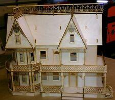 Victorian Farmhouse 1:24 Scale Dollhouse kit 9 rooms