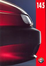 Alfa Romeo 145 UK market 1994 sales brochure