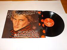 ROD STEWART - Foolish Behaviour - 1980 UK 10-track vinyl LP