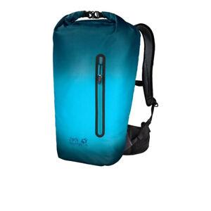 Jack Wolfskin Unisex Halo 24 Backpack Blue Sports Outdoors Breathable Reflective