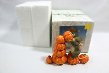 Charming Tails Stack O Lanterns New In Original Box - No. 85/416