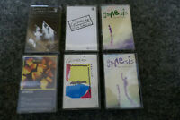 6x GENESIS CASSETTE TAPES (6 ALBUMS) JOB LOT BUNDLE PROG ROCK EX