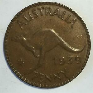 1939 Penny About Uncirculated