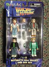 Back To The Future Return To Hill Valley 1985 Mini Mates Diamond Select MIP BTTF