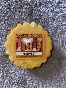 1 x Yankee Candle HARVEST wax Tart Melt- Deerfield Label