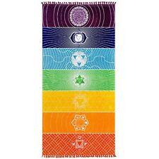 Round Mandala Indian Hippie Tapestry Beach Picnic Throw Towel Yoga Mat Blanket
