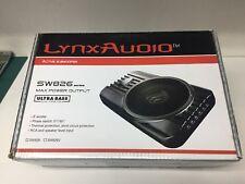 "Lynx Car Audio Active 8"" 160W max Subwoofer Enclosure fits under seats"