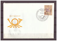 DDR, FDC 500 Jahre int. Postverbindungen in Europa MiNr. 3299, 1990 ESSt