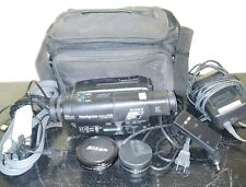Sony Handycam Ccd-Tr600 Hi8 Video8 8mm Video Camera With Case & extras Working
