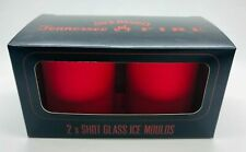 Jack Daniels Tennessee Fire 2 x Shot Glass Ice Moulds
