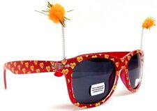 CHESPIRITO EL CHAPULIN COLORADO SQUARE SUNGLASSES HALLOWEEN COSTUME RETRO LOGO