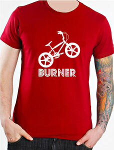 Raleigh Burner 80s Retro BMX Biking T-Shirt