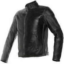 Giacche in pelle con protezione rimovibile per motociclista taglia 46