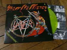 SLAYER Show no mercy LP vinyl couleur insert