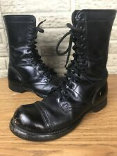 Vintage HH Double H Millitary Jump Boots Corcoran Style Sz 7.5 D