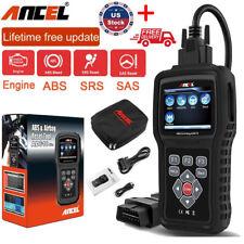 Ancel AD610 OBD2 Scanner Car Engine Diagnostic Tool ABS SAS Airbag Reset Scanner