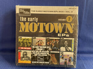 EARLY MOTOWN EPS VOL 2  BOX (7XEP) COMPLETE ORIGINAL UK EP/45T EXC+