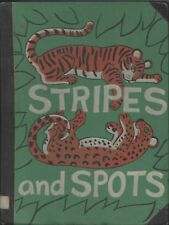 Stripes and Spots by Dahlov Ipcar doubleday 1st stated 1961 ex-lib hardcover
