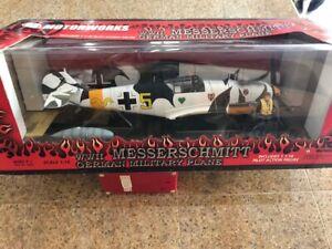 1/18 21st century toys messerschmitt me 109 e-4 jg 54/misb/new rare
