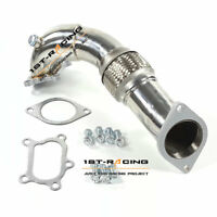 FOR Mazda Mazdaspeed 3 DISI-MZR  2.3L Turbo Exhaust Downpipe 304 Stainless Steel
