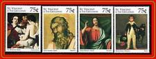 St. Vincent = Cuadros: Caravaggio,Goya,Etc. MNH Música,Juguete Horse,Religion