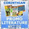CRMG Corinthian ProStars MicroStars SoccerStarz INFO BOOKLETS (choose from list)
