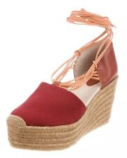 Chloe100% Authentic Wedges Sz 39 Red