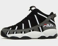 ⚫⚫ 2019 Authentic Fila Spaghetti High ® ( Men Size UK: 6 - 11 ) Black Grey