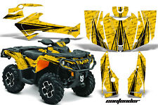 CanAm SST G2 AMR Racing Graphic Kit Wrap Quad Decal ATV 2013-2014 CONTENDER B Y