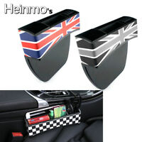 Red Union Jack Car Seat Gap Pocket Storage Box For MINI Cooper R Series F Series