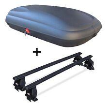 Caja de techo vdpba320ltr CARBON LOOK + ACERO baca Tema para Mini Cooper S SW A