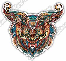 "Colorful Owl Abstract Illuminati Gift Idea Car Bumper Vinyl Sticker Decal 5""X4"""