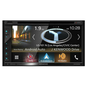 """OPEN BOX Kenwood Excelon DNX695S WVGA Double-DIN Navigation/DVD Receiver - 6.8"""""""