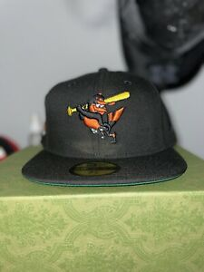 Hat Club Exclusive 7 3/8 Baltimore Orioles Orioles 60 Side Patch Green Uv