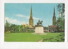 Coventry Lady Godiva Statue 1966 Postcard 487a