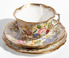 Hammersley Queen Anne Bone China Tea Cup, Saucer & Plate Trio (13166)